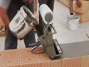 Шліфований керамічний блок, на клей або піну
