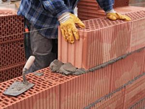 Стены из керамоблоков