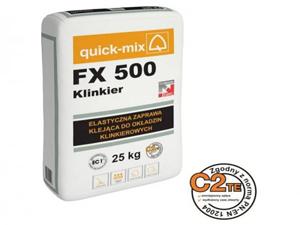 Раствор для кладки кирпича ручной формовки quick-mix-fx-500